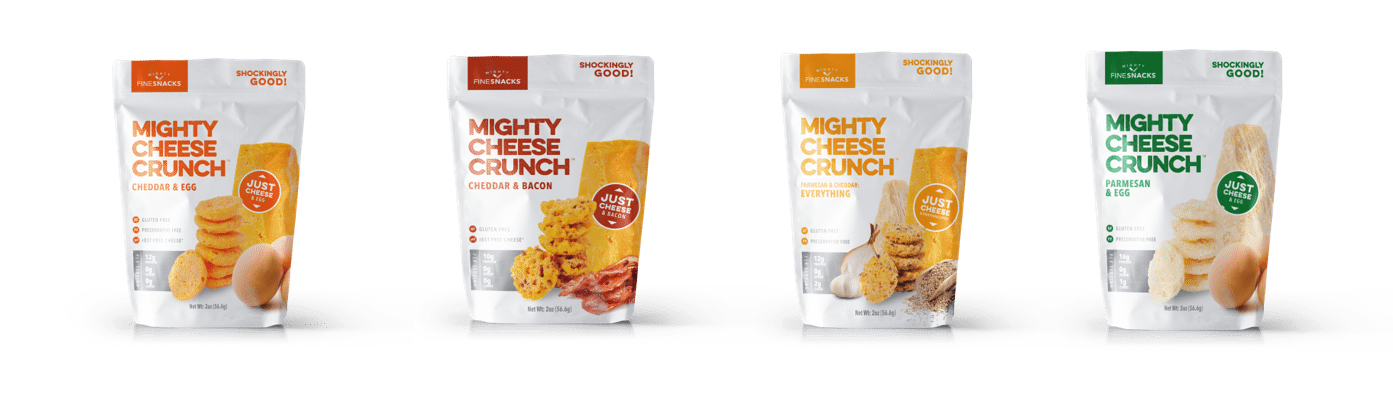 Mighty Cheese Crunch