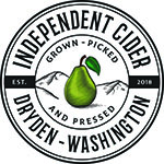 https://www.waltonbeverage.com/wp-content/uploads/2019/08/Independent-Cider-Logo-2-Black-with-green-pear.jpg